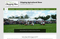Chipping Agricultural Show Celebrating all aspects of farming and rural life. Something for all the family
