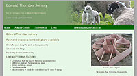 Edward Thornber Joinery Lancashire Yorkshire Four and two ewe lamb adopters