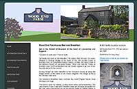 Wood End Farmhouse Bed and Breakfast, Dunsop Bridge, near Newton and Slaidburn in the Forest of Bowland